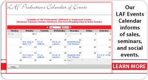 Learn More - Our Calendar of Events